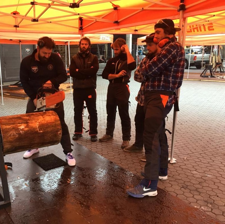 Primo Training Camp STIHL TIMBERSPORTS 2019